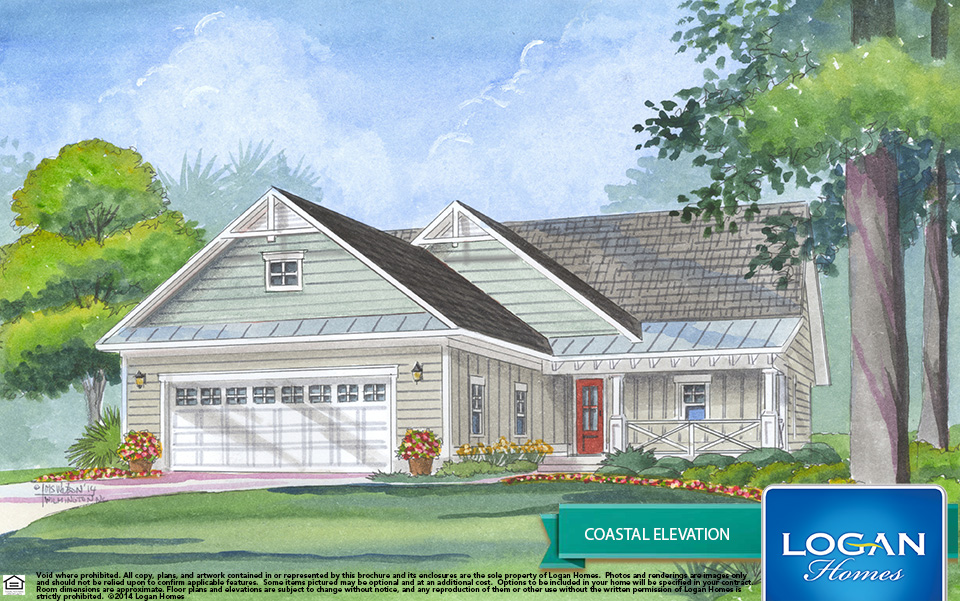The fairhope i compass pointe for Fairhope house plan